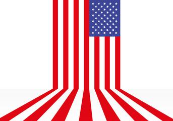 drapeau - état unis - américain - USA - Amérique
