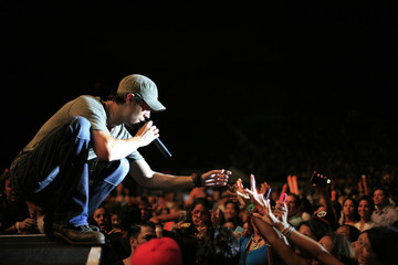 Spanish singer Enrique Iglesias during a fund-raising concert in Santo Domingo