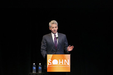 Ackman, founder and CEO of hedge fund Pershing Square Capital Management, speaks at the Sohn Investment Conference in New York