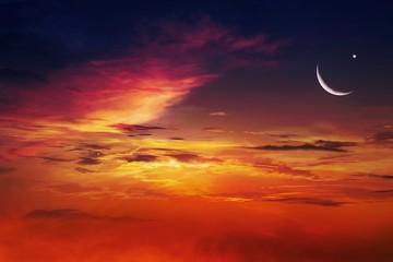 Ramadan background . Eid Mubarak background .