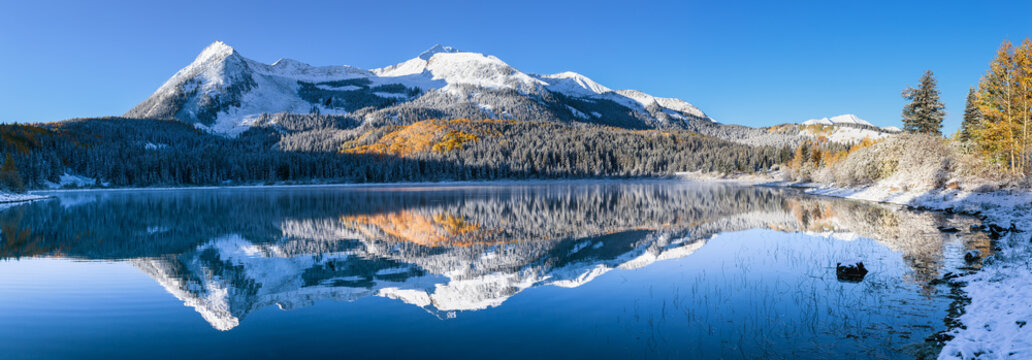 Colorado Autumn Color at Lost Lake on Kebler Pass
