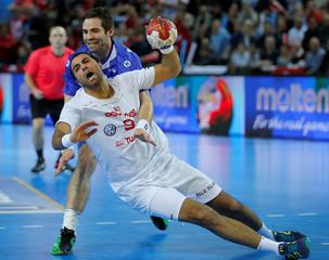 Men's Handball - Iceland v Tunisia - 2017 Men's World Championship Main Round - Group B