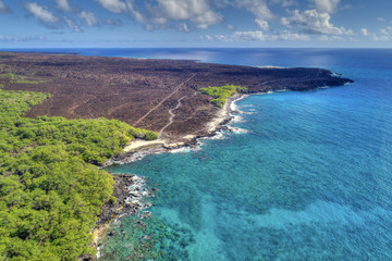 King's Highway (Hoapili Trail) - Ahihi Kinau Natural Reserve Area - Island of Maui, Hawaii