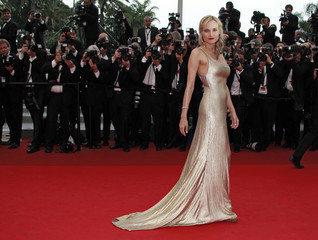 """Actress Kruger arrives on the red carpet for the screening of the film """"Sleeping Beauty"""" at the 64th Cannes Film Festival"""