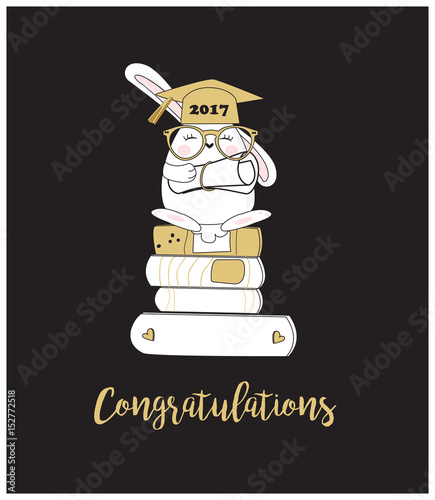 congratulation card funny graduation card stock image and royalty