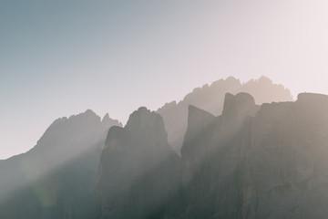 Dolomiten bei Sonnenaufgang, Italien