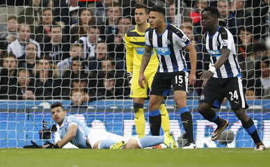 Newcastle United v Manchester City - Barclays Premier League