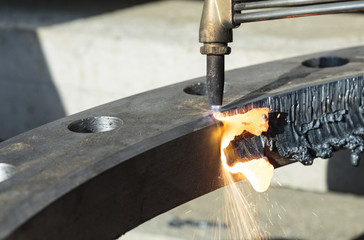 Job cutting torch