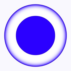 circle icon vector illustration. Flat design style