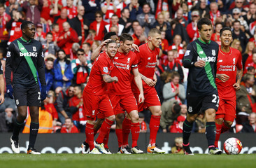 Liverpool v Stoke City - Barclays Premier League