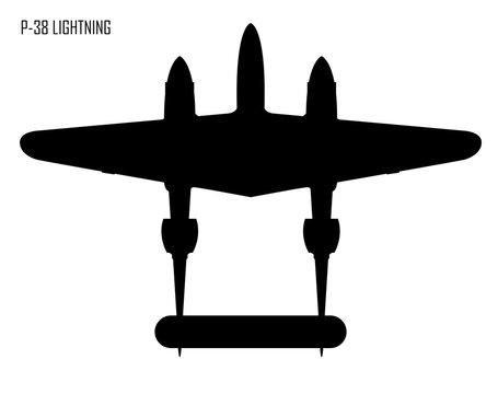 World War Ii Lockheed P 38 Lightning