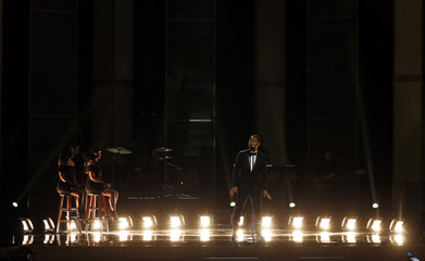 John Legend performs during the 48th NAACP Image Awards in Pasadena