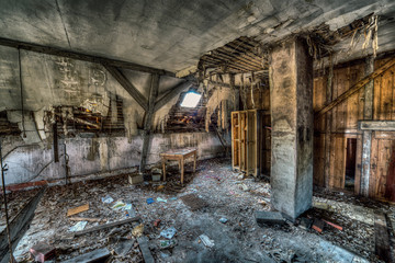 Abandoned Top Floor - Lost Places