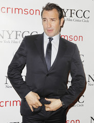 Jean Dujardin arrives for the New York Film Critics Circle Awards in New York