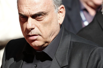 Portsmouth's Manager Avram Grant watches before the start of their FA Cup semi-final soccer match against Tottenham Hotspur in London