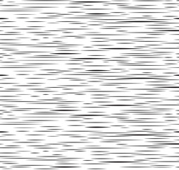 Abstract irregular stripe line seamless pattern. Black and white metal ripple texture