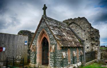 Movilla abbey ruins, Newtownards, Northern Ireland