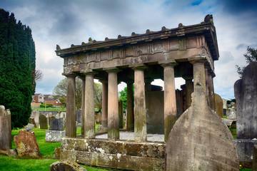 Cemetery, Newtownards, Northern Ireland