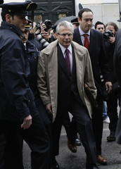 Spanish judge arrives for a hearing at Spain's Supreme Court in Madrid