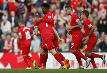 Liverpool v Aston Villa - Barclays Premier League