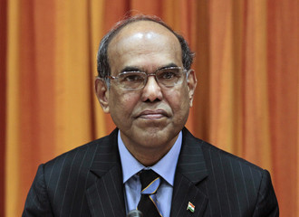 Reserve Bank of India (RBI) Governor Duvvuri Subbarao attends the monetary policy review meeting in Mumbai