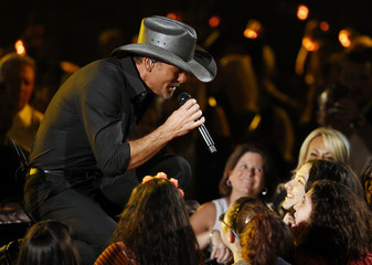 Tim McGraw performs during the 51st Academy of Country Music Awards in Las Vegas