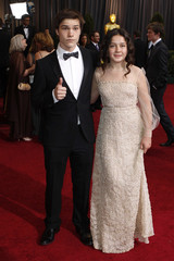 Actors Krause (and Miller arrive at the 84th Academy Awards in Hollywood
