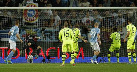 Malmo FF v Celtic - UEFA Champions League Qualifying Play-Off Second Leg