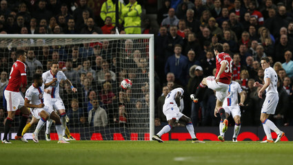 Manchester United v Crystal Palace - Barclays Premier League