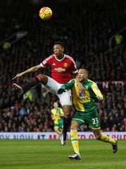 Manchester United v Norwich City - Barclays Premier League
