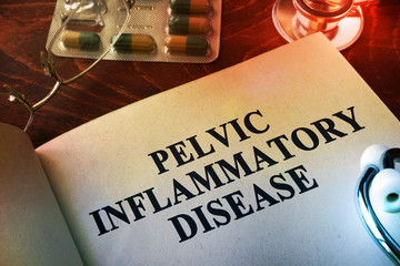 Book with title Pelvic inflammatory disease (PID).
