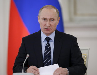 Russian President Putin chairs meeting on preparations for Victory Day in Moscow