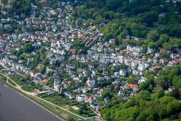 Hamburg Panorama fome above