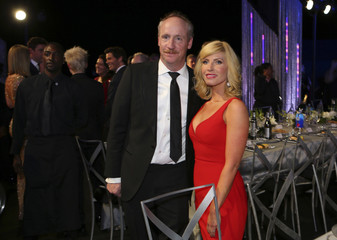 Matt Walsh and his wife Morgan Walsh attend the 23rd Screen Actors Guild Awards in Los Angeles