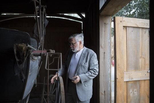 John Cummings at the Whitney Plantation in Wallace Louisiana