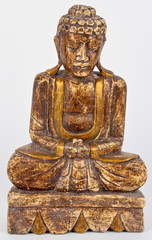 Wood Carving Buddhist statue