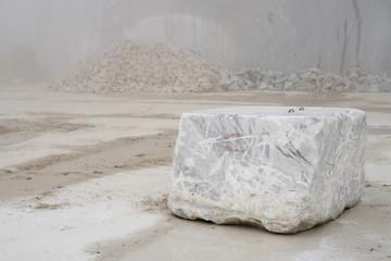 marble quarry  in marina di carrara