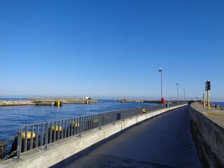 Kolobrzeg - port