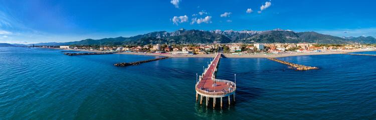 Foto op Canvas Toscane Massa - Versilia - Tuscany coast
