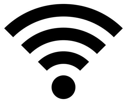 Black Icon Wi-Fi