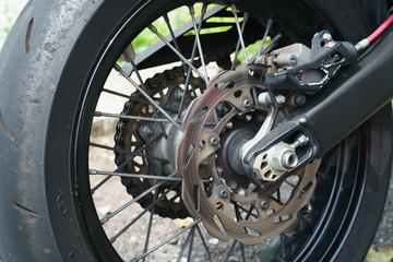 オートバイ・ディスクブレーキ
