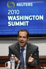 Neil Barofsky, special inspector general, Troubled Asset Relief Program,  speaks at the Reuters Washington Summit