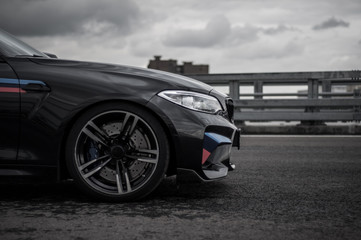 BMW M2 Perfomance pack on the road