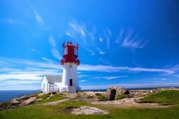 Fototapete - Lindesnes lighthouse