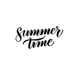 Summer Time Handwritten Calligraphy