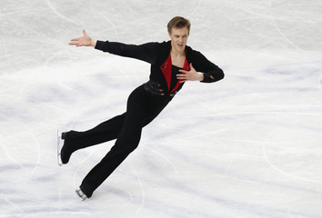 Verner of Czech Republic competes during the men's free program at the ISU World Figure Skating Championships in Saitama