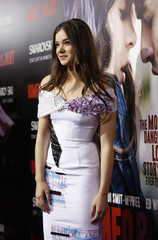 "Steinfeld poses at the premiere of ""Romeo and Juliet"" in Los Angeles"