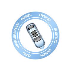 Alternative Antriebstechnologien, Automobil, Mobilität, Kraftsoff Benzin