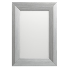 Frame Picture On Isolated White Of Background