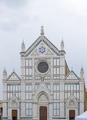 D5515 Basilica Santa Croce in Florence, Italy